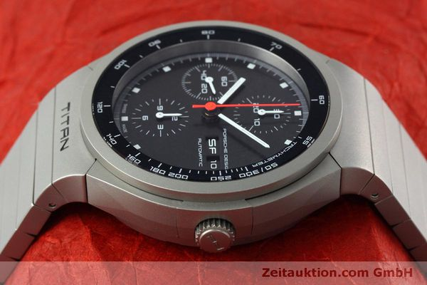 Used luxury watch Porsche Design Heritage chronograph titanium automatic Kal. ETA 7750 Ref. P6530  | 152520 05