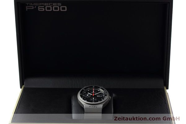 Used luxury watch Porsche Design Heritage chronograph titanium automatic Kal. ETA 7750 Ref. P6530  | 152520 07