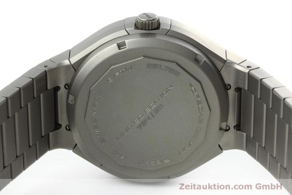 Used luxury watch Porsche Design Heritage chronograph titanium automatic Kal. ETA 7750 Ref. P6530  | 152520 09