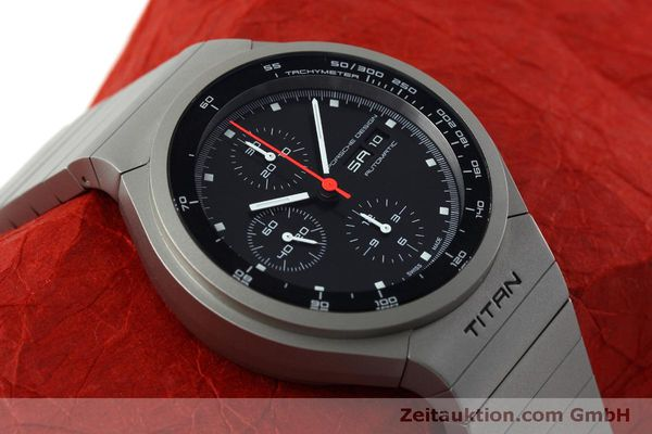 Used luxury watch Porsche Design Heritage chronograph titanium automatic Kal. ETA 7750 Ref. P6530  | 152520 14