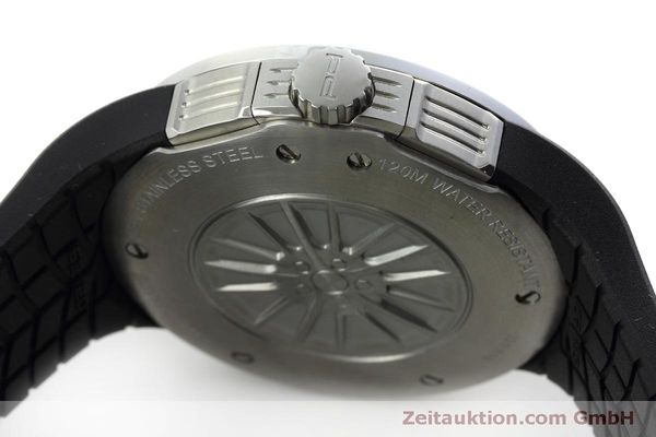 Used luxury watch Porsche Design Flat Six chronograph steel quartz Kal. ETA 251.262 Ref. P6320  | 152523 08