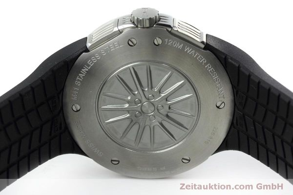 Used luxury watch Porsche Design Flat Six chronograph steel quartz Kal. ETA 251.262 Ref. P6320  | 152523 09