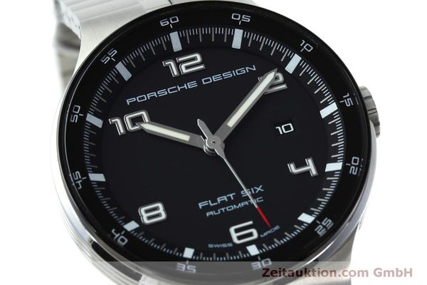 Used luxury watch Porsche Design Flat Six steel automatic Kal. SW300 Ref. P6350.42  | 152524 02
