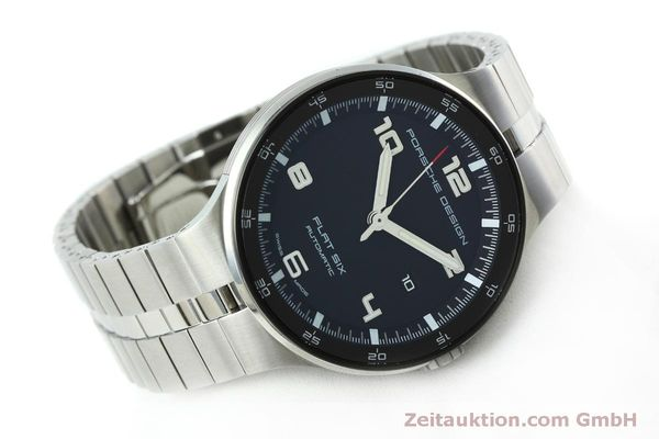 Used luxury watch Porsche Design Flat Six steel automatic Kal. SW300 Ref. P6350.42  | 152524 03