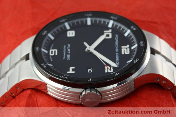 Used luxury watch Porsche Design Flat Six steel automatic Kal. SW300 Ref. P6350.42  | 152524 05