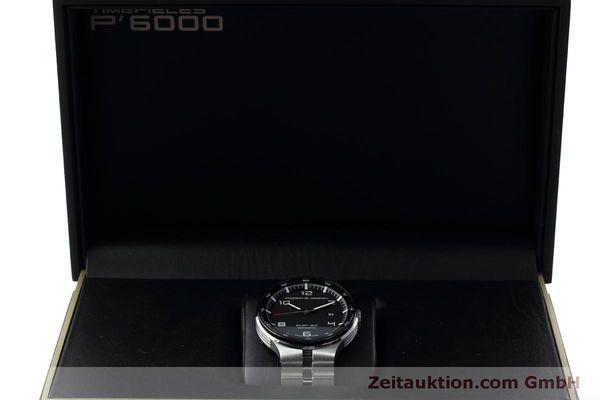 Used luxury watch Porsche Design Flat Six steel automatic Kal. SW300 Ref. P6350.42  | 152524 07
