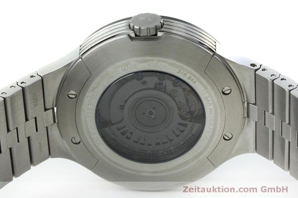 Used luxury watch Porsche Design Flat Six steel automatic Kal. SW300 Ref. P6350.42  | 152524 09