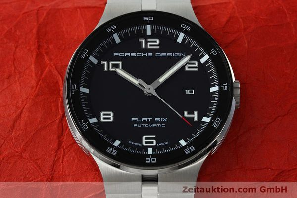 Used luxury watch Porsche Design Flat Six steel automatic Kal. SW300 Ref. P6350.42  | 152524 16