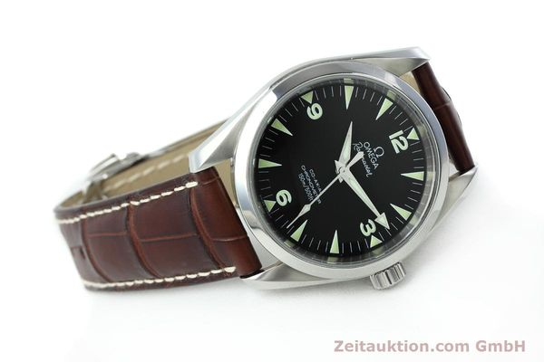 Used luxury watch Omega Railmaster steel automatic Kal. 2403 Ref. 28045237  | 152525 03