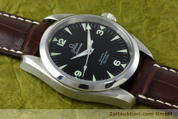 Used luxury watch Omega Railmaster steel automatic Kal. 2403 Ref. 28045237  | 152525 16