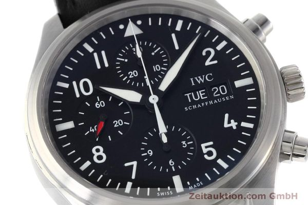 Used luxury watch IWC Fliegeruhr chronograph steel automatic Kal. 79320 Ref. IW371701  | 152529 02