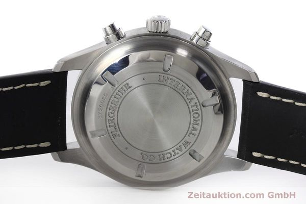 Used luxury watch IWC Fliegeruhr chronograph steel automatic Kal. 79320 Ref. IW371701  | 152529 09