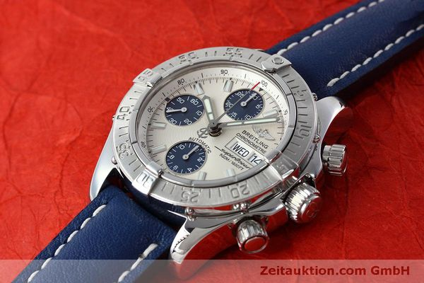 Used luxury watch Breitling Superocean Chronograph chronograph steel automatic Kal. B13 ETA 7750 Ref. A13340  | 152533 01