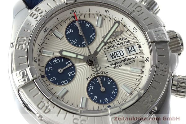 Used luxury watch Breitling Superocean Chronograph chronograph steel automatic Kal. B13 ETA 7750 Ref. A13340  | 152533 02