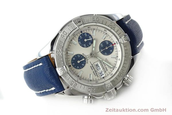 Used luxury watch Breitling Superocean Chronograph chronograph steel automatic Kal. B13 ETA 7750 Ref. A13340  | 152533 03