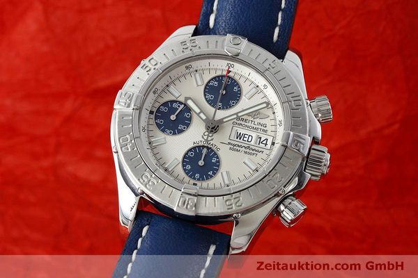 Used luxury watch Breitling Superocean Chronograph chronograph steel automatic Kal. B13 ETA 7750 Ref. A13340  | 152533 04