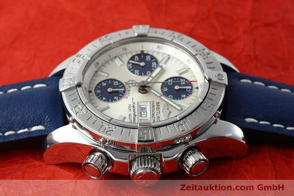 Used luxury watch Breitling Superocean Chronograph chronograph steel automatic Kal. B13 ETA 7750 Ref. A13340  | 152533 05