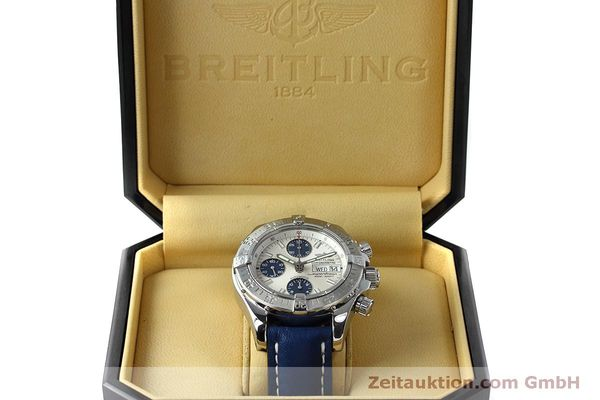Used luxury watch Breitling Superocean Chronograph chronograph steel automatic Kal. B13 ETA 7750 Ref. A13340  | 152533 07