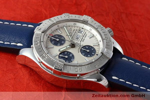 Used luxury watch Breitling Superocean Chronograph chronograph steel automatic Kal. B13 ETA 7750 Ref. A13340  | 152533 15