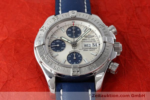 Used luxury watch Breitling Superocean Chronograph chronograph steel automatic Kal. B13 ETA 7750 Ref. A13340  | 152533 16
