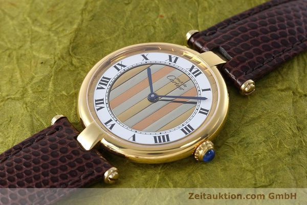 Used luxury watch Cartier Vermeil silver-gilt quartz Kal. 90  | 152547 01