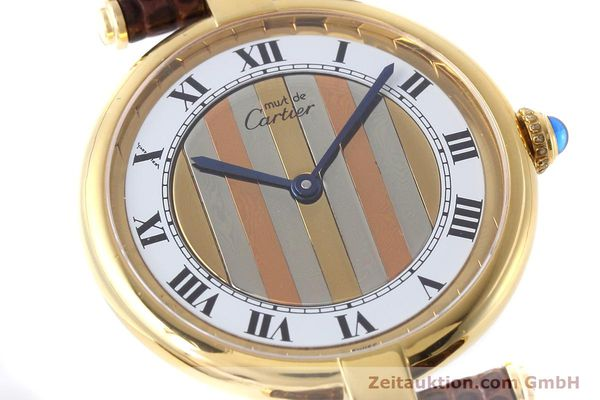 Used luxury watch Cartier Vermeil silver-gilt quartz Kal. 90  | 152547 02