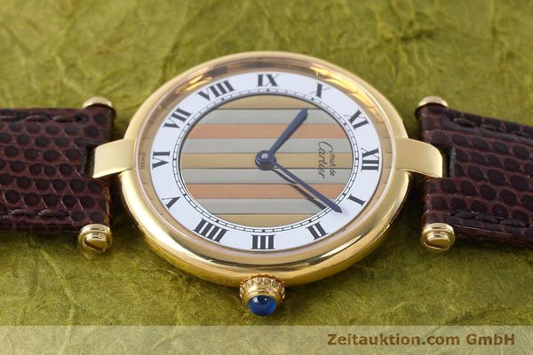 Used luxury watch Cartier Vermeil silver-gilt quartz Kal. 90  | 152547 05