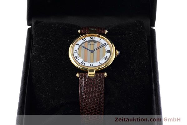 Used luxury watch Cartier Vermeil silver-gilt quartz Kal. 90  | 152547 07