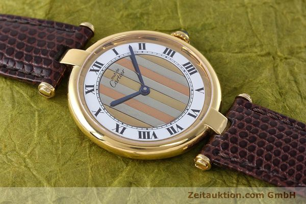 Used luxury watch Cartier Vermeil silver-gilt quartz Kal. 90  | 152547 12