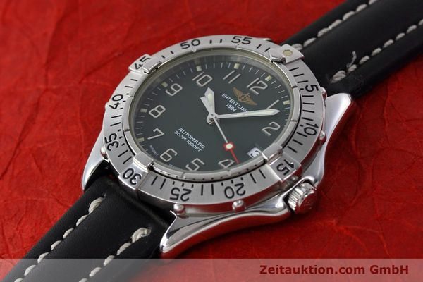 Used luxury watch Breitling Colt steel automatic Kal. B17 ETA 2824-2 Ref. A17035  | 152551 01