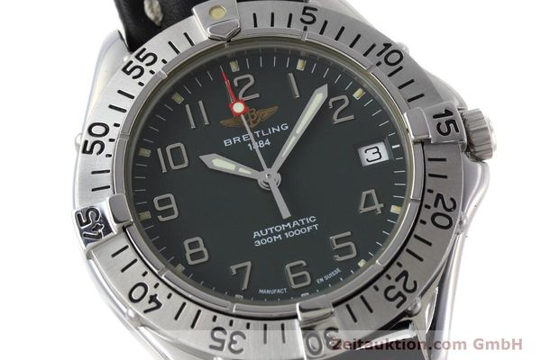 Used luxury watch Breitling Colt steel automatic Kal. B17 ETA 2824-2 Ref. A17035  | 152551 02