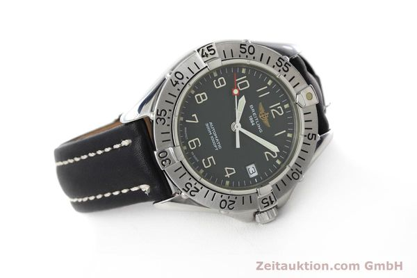 Used luxury watch Breitling Colt steel automatic Kal. B17 ETA 2824-2 Ref. A17035  | 152551 03