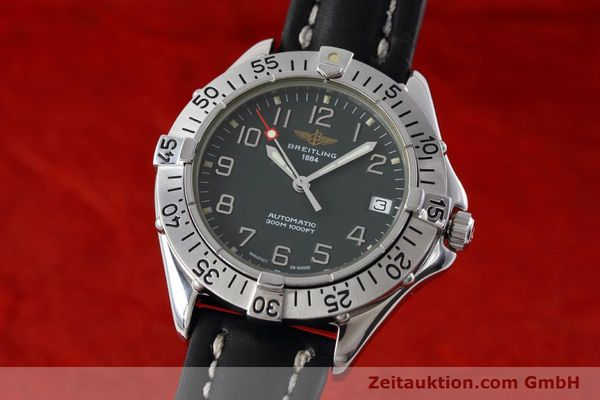 Used luxury watch Breitling Colt steel automatic Kal. B17 ETA 2824-2 Ref. A17035  | 152551 04