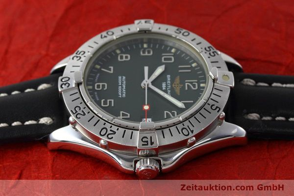 Used luxury watch Breitling Colt steel automatic Kal. B17 ETA 2824-2 Ref. A17035  | 152551 05