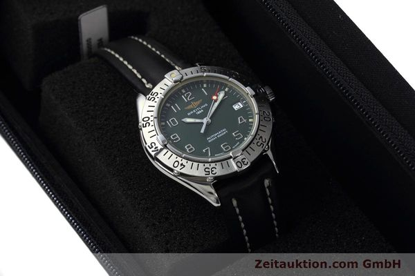 Used luxury watch Breitling Colt steel automatic Kal. B17 ETA 2824-2 Ref. A17035  | 152551 07
