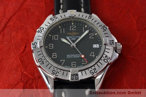 Used luxury watch Breitling Colt steel automatic Kal. B17 ETA 2824-2 Ref. A17035  | 152551 15
