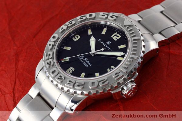 Used luxury watch Blancpain Fifty Fathoms steel automatic Kal. 1151 Ref. 2200-1130-71  | 152552 01