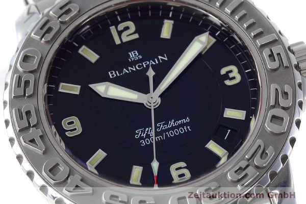 Used luxury watch Blancpain Fifty Fathoms steel automatic Kal. 1151 Ref. 2200-1130-71  | 152552 02