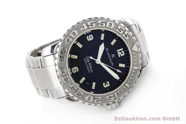 Used luxury watch Blancpain Fifty Fathoms steel automatic Kal. 1151 Ref. 2200-1130-71  | 152552 03