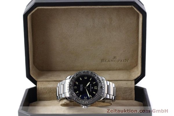 Used luxury watch Blancpain Fifty Fathoms steel automatic Kal. 1151 Ref. 2200-1130-71  | 152552 07