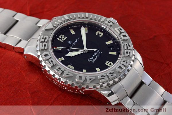 Used luxury watch Blancpain Fifty Fathoms steel automatic Kal. 1151 Ref. 2200-1130-71  | 152552 16