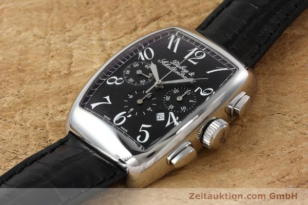 Used luxury watch Dubey & Schaldenbrand Aerochrono chronograph steel automatic Kal. ETA 2094  | 152554 01