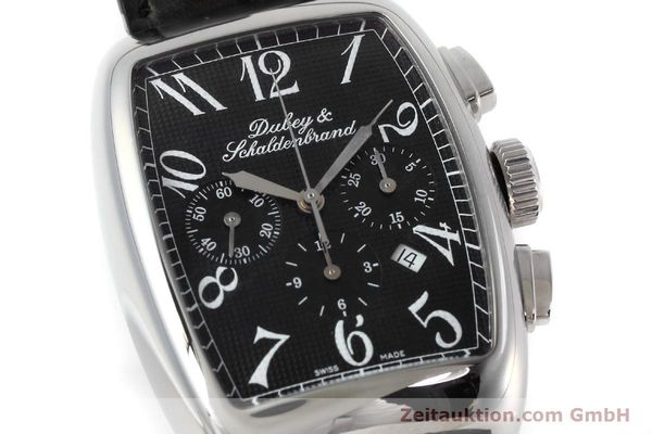 Used luxury watch Dubey & Schaldenbrand Aerochrono chronograph steel automatic Kal. ETA 2094  | 152554 02