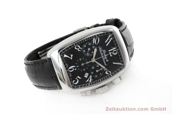 Used luxury watch Dubey & Schaldenbrand Aerochrono chronograph steel automatic Kal. ETA 2094  | 152554 03