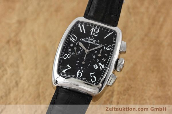 Used luxury watch Dubey & Schaldenbrand Aerochrono chronograph steel automatic Kal. ETA 2094  | 152554 04