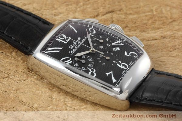 Used luxury watch Dubey & Schaldenbrand Aerochrono chronograph steel automatic Kal. ETA 2094  | 152554 13