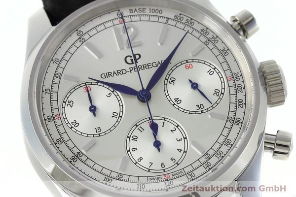 Used luxury watch Girard Perregaux * chronograph steel automatic Kal. Selita  300 Ref. 49480  | 152565 02