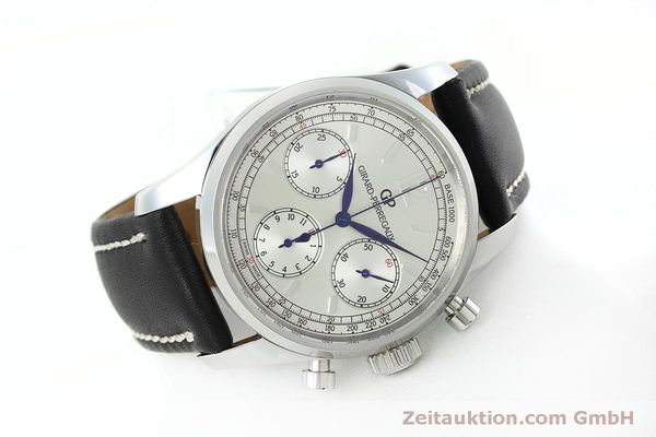 Used luxury watch Girard Perregaux * chronograph steel automatic Kal. Selita  300 Ref. 49480  | 152565 03