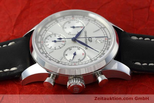 Used luxury watch Girard Perregaux * chronograph steel automatic Kal. Selita  300 Ref. 49480  | 152565 05