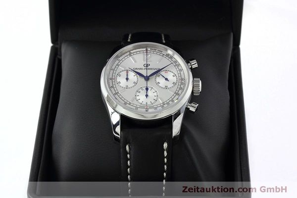 Used luxury watch Girard Perregaux * chronograph steel automatic Kal. Selita  300 Ref. 49480  | 152565 07